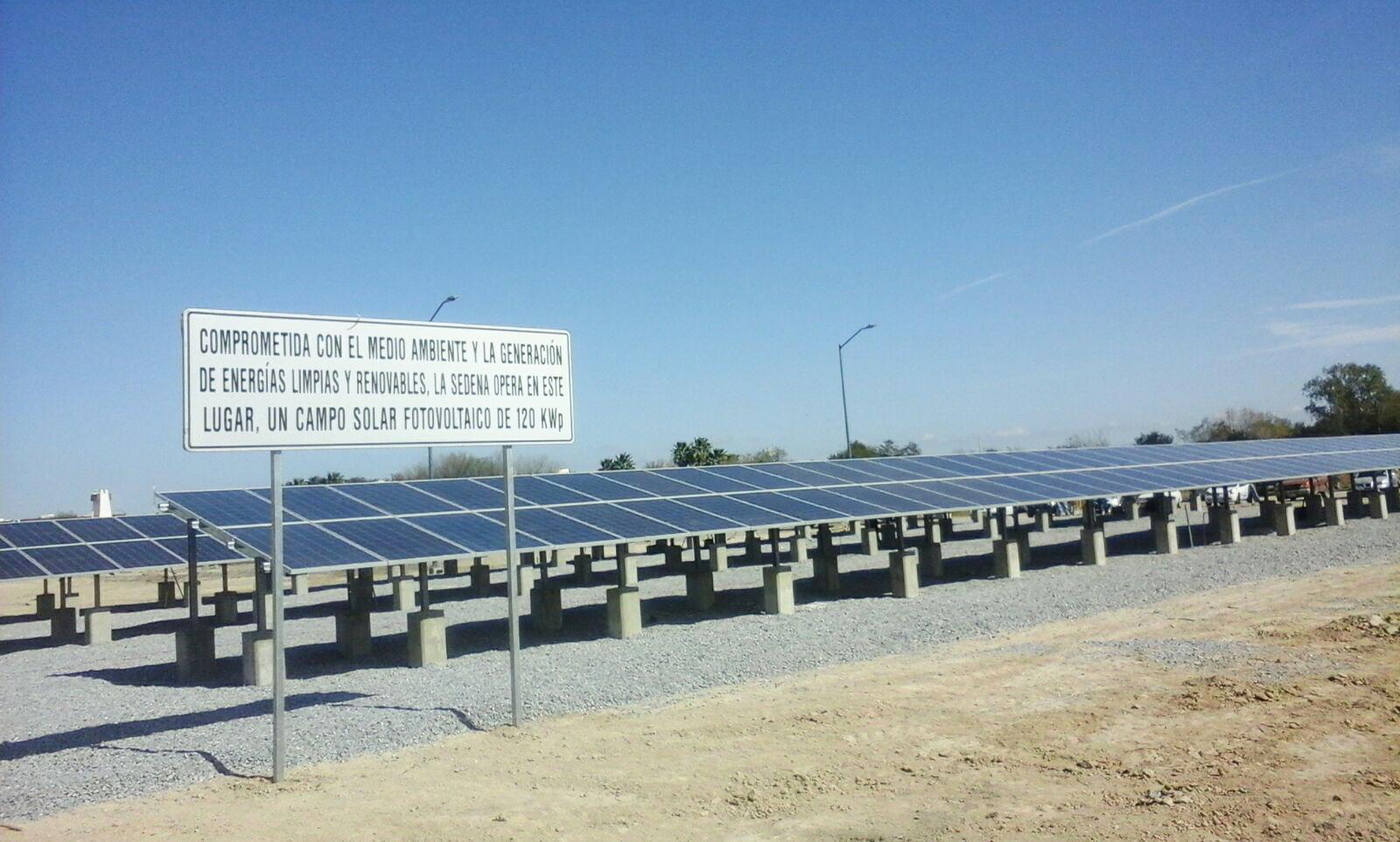 FOTOVOLTAICO INSTITUCIONAL Sedena Global Solare