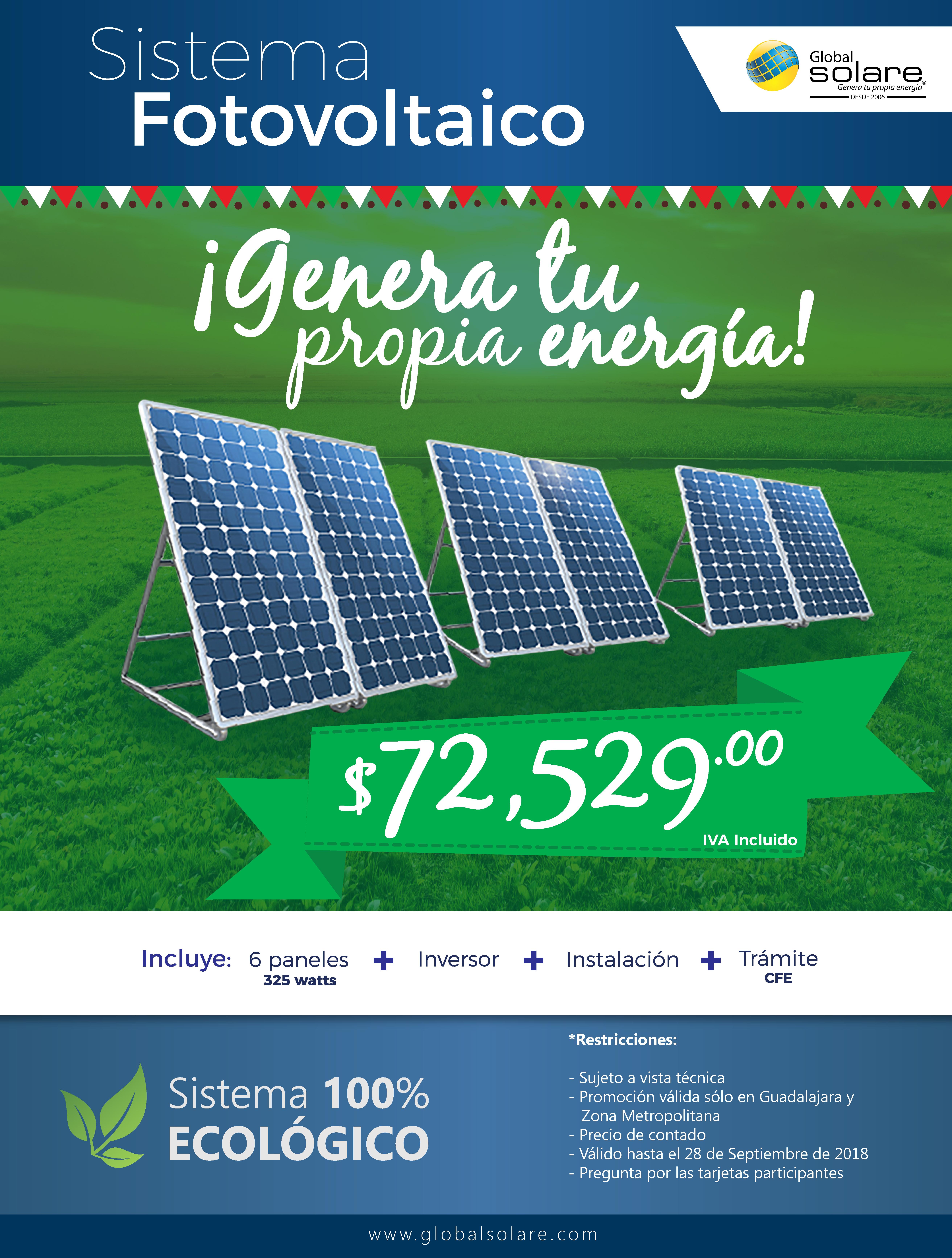 Promocion Paneles Solares Canadian