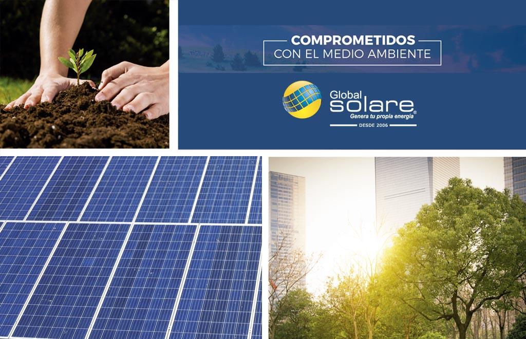Global Solare comprometidos con el medio ambiente